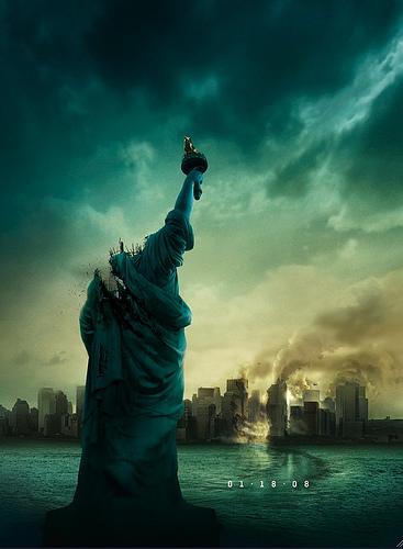 1-18-08 a.k.a. Cloverfield a.k.a. Monstrous (teaser póster)
